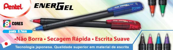 Nova caneta Energel