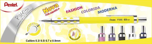 Lapiseira P360 Amarela